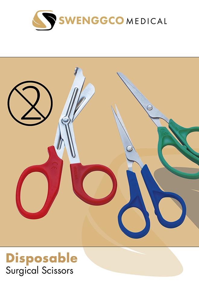 Disposable Surgical Scissors